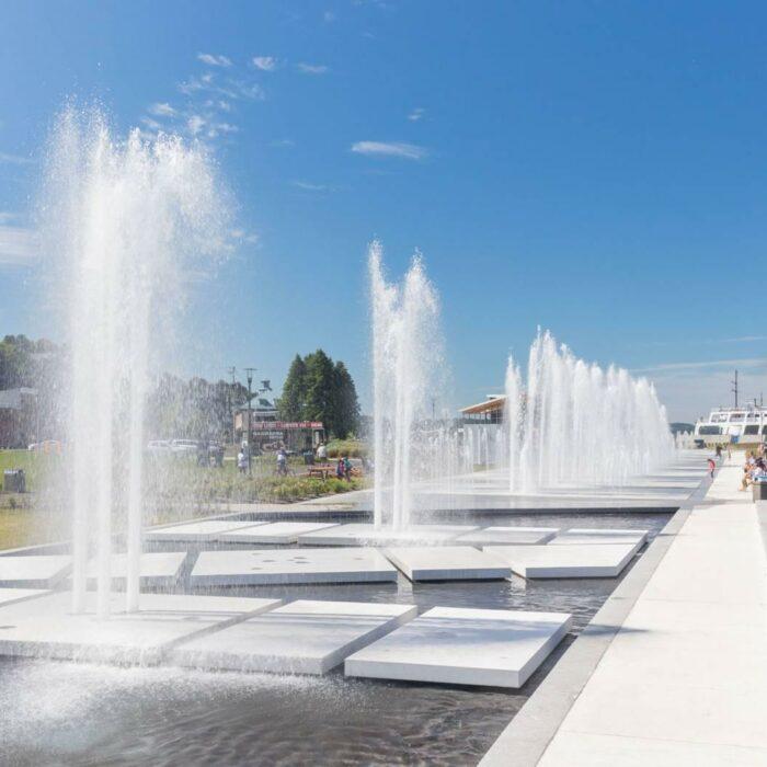 Fontaine du Quai Paquet – Traverse de Lévis