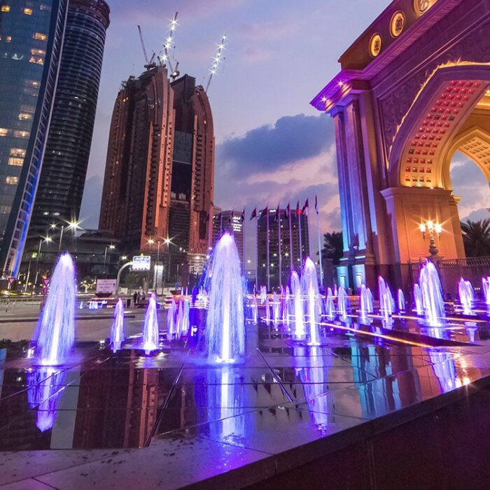 Emirates Palace Hotel – Triumphant Arch
