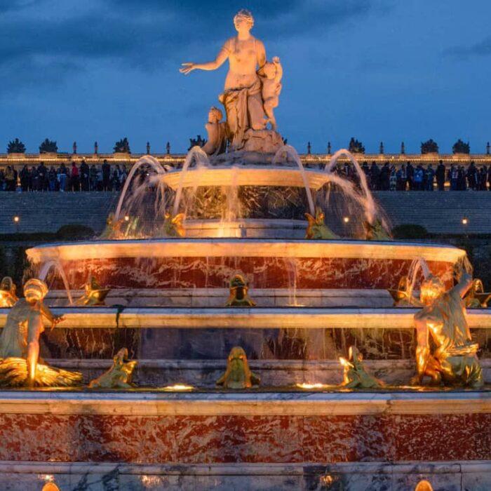 Palace of Versailles – Neptune and Latona Fountain